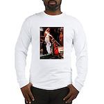 Accolade / 2 Poodles(b&w) Long Sleeve T-Shirt