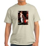 Accolade / 2 Poodles(b&w) Light T-Shirt