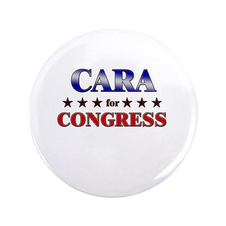 """CARA for congress 3.5"""" Button"""