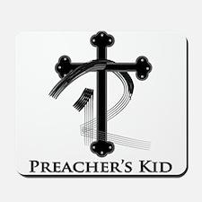 PK Cross (Blk/Gry) Logo Mousepad