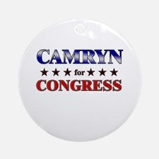 CAMRYN for congress Ornament (Round)