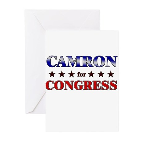 CAMRON for congress Greeting Cards (Pk of 20)