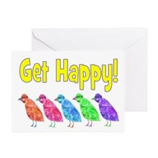 GET HAPPY! Greeting Cards (Pk of 10)