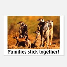 FAMILIES STICK TOGETHER Postcards (Package of 8)