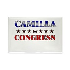CAMILLA for congress Rectangle Magnet (10 pack)