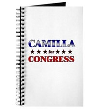 CAMILLA for congress Journal