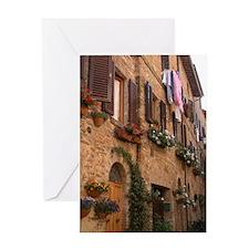 Italian Hill Top Town Card