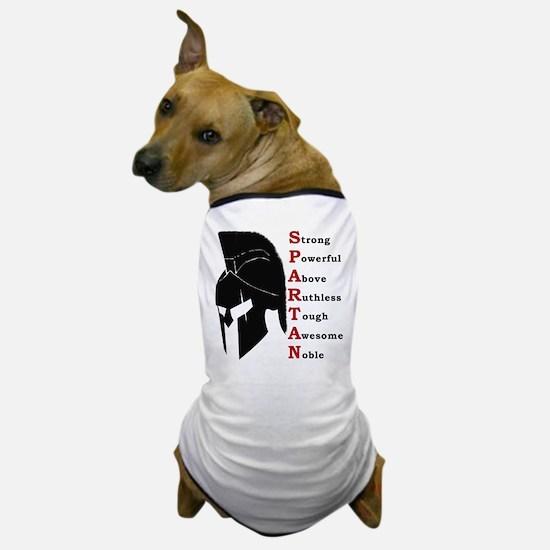 Spartan helmet Dog T-Shirt