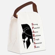 Spartan helmet Canvas Lunch Bag