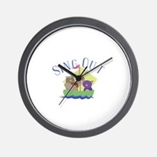 Sing Out Wall Clock