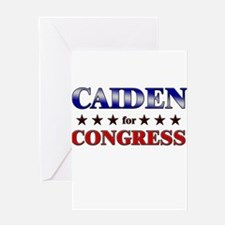 CAIDEN for congress Greeting Card