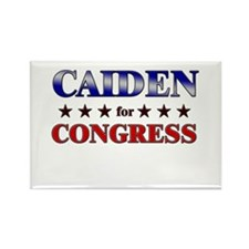 CAIDEN for congress Rectangle Magnet