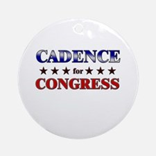CADENCE for congress Ornament (Round)