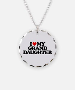 I LOVE MY GRANDDAUGHTER Necklace