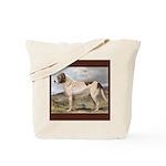 Antique Saint Bernard Smooth Tote Bag