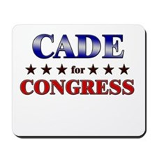 CADE for congress Mousepad