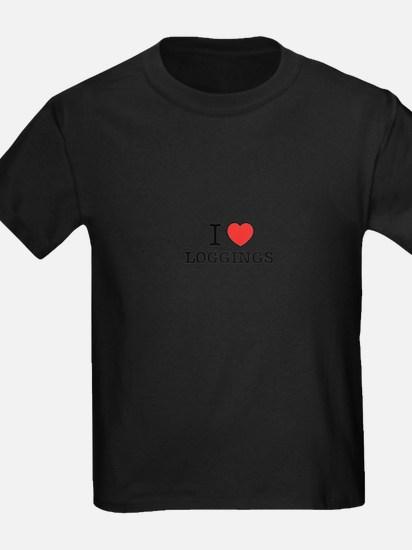 I Love LOGGINGS T-Shirt