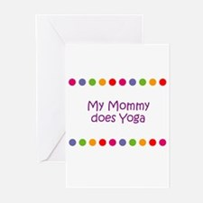 My Mommy does Yoga Greeting Cards (Pk of 10)