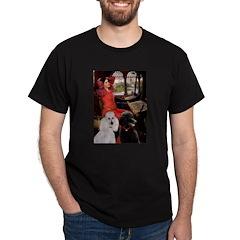 Lady..2 Poodles (ST) T-Shirt