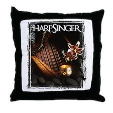 HarpSinger CD Throw Pillow
