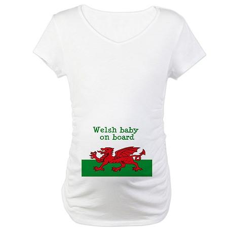 Welsh Maternity T-Shirt