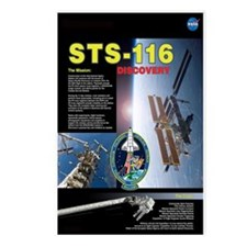 STS 116 Mission Poster Postcards (Package of 8)