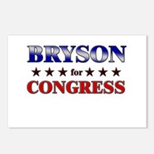 BRYSON for congress Postcards (Package of 8)