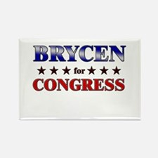BRYCEN for congress Rectangle Magnet