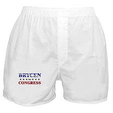 BRYCEN for congress Boxer Shorts