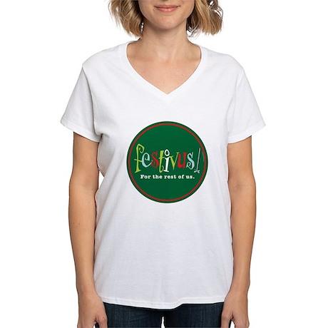 FESTIVUS™ Women's V-Neck T-Shirt