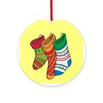 Christmas StockingsOrnament (Round)