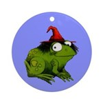 Frog Ornament (Round)