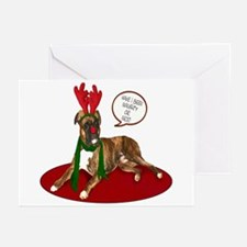 Boxer Christmas Greeting Cards (Pk of 10)