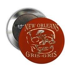 "New Orleans Grsi Gris 2.25"" Button (10 pack)"