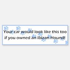 Your Car Ibizan Hound Bumper Bumper Bumper Sticker
