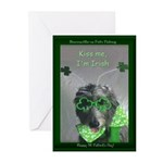 Kiss Me, I'm Irish Cards (Pk of 20)