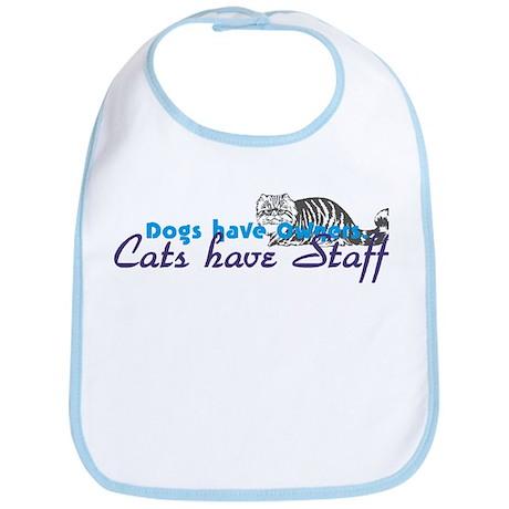 Cats have Staff Bib