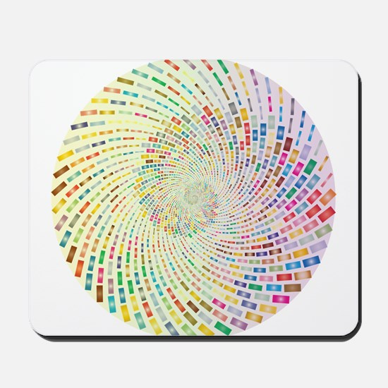 Spiral Color Mousepad