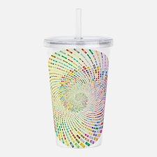 Spiral Color Acrylic Double-wall Tumbler