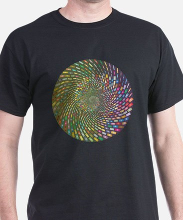 Spiral Color T-Shirt
