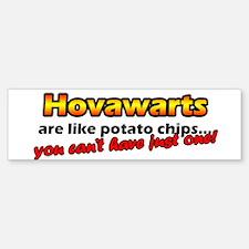 Potato Chips Hovawarts Bumper Bumper Bumper Sticker