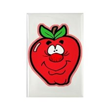 Silly Apple Rectangle Magnet