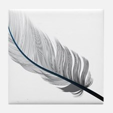 Gray Quill Tile Coaster