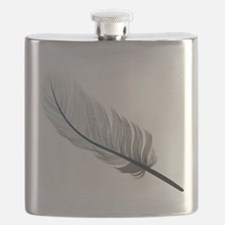 Gray Quill Flask