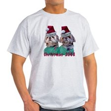 Shih Tzu -Shih Two Christmas T-Shirt