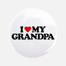 """I LOVE MY GRANDPA 3.5"""" Button (100 pack)"""