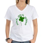 Life, Love Laughter Women's V-Neck T-Shirt