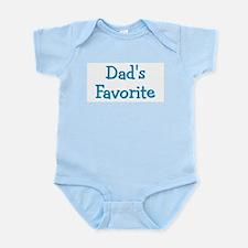 Dad's Favorite (Blue) Infant Bodysuit