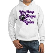 Jeeps are for Girls Jumper Hoody