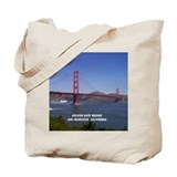 California souvenirs Canvas Totes